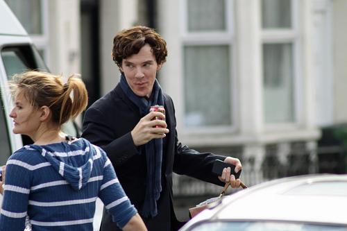 Sherlock Set Photos