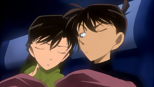 shinichi x ran wallpaper titled Shinichi x Ran