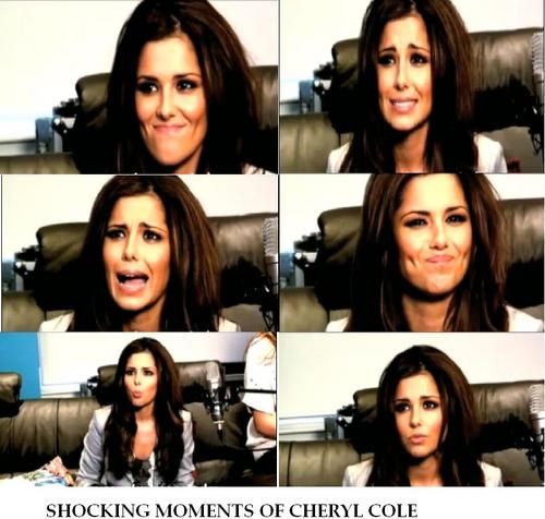 Shotckin moments of Cheryl cole