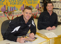 Signing in Adelaide, South Australia - Summer 2011