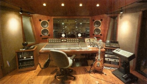 Slash's studio