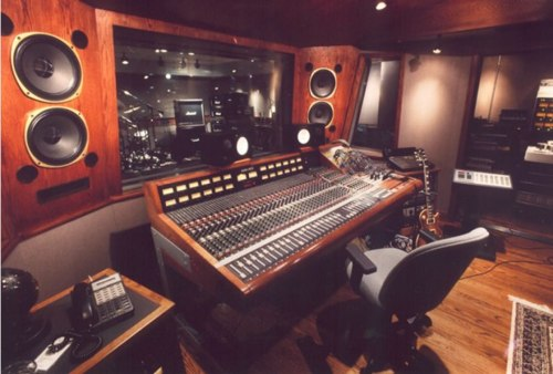 Slash's studio