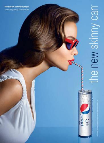 Sofia's Diet Pepsi Print Ad