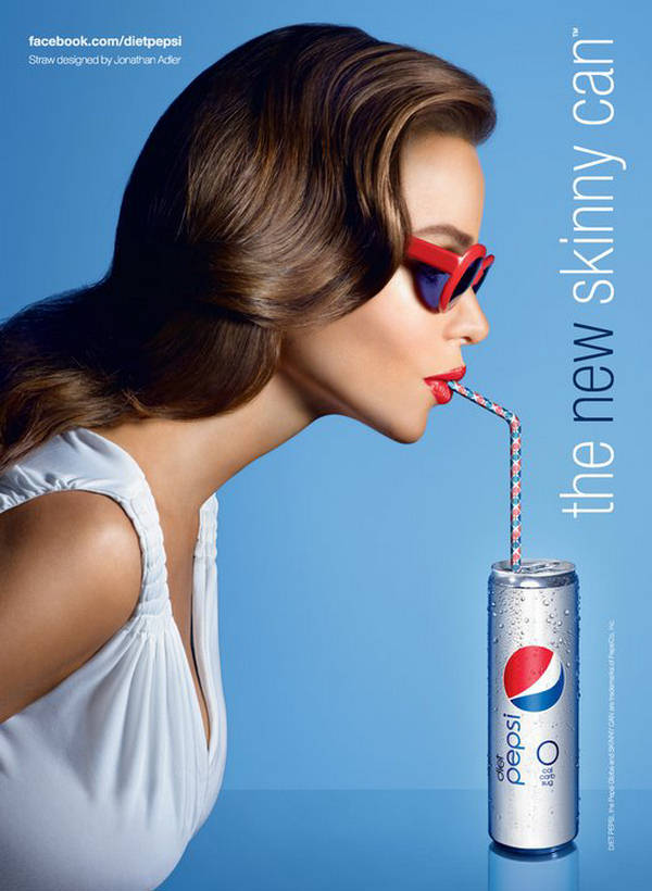 pepsi print ad analysis