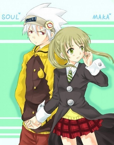 Soul Eater-Maka x Soul