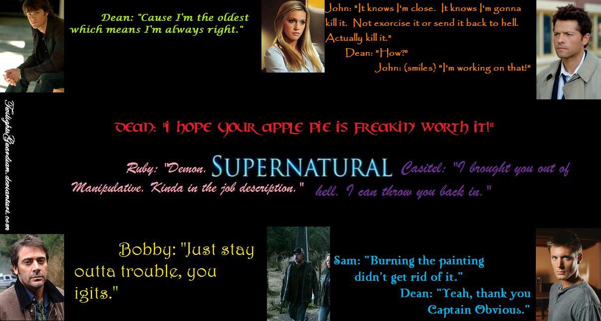 Inspirational Quotes Supernatural. QuotesGram