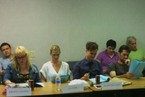 "Table Read 7x01 ""It takes a Village"""