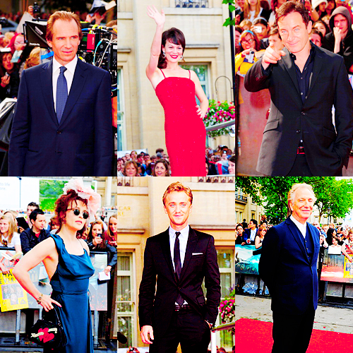 The Deathly Hallows part 2 London premiere