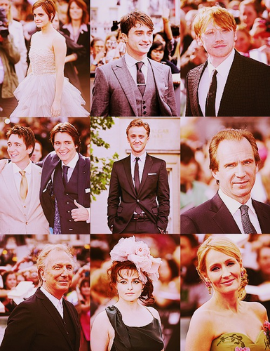 The Deathly Hallows part 2 ロンドン premiere