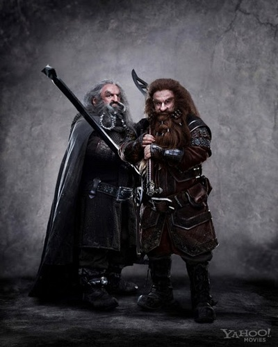 The Hobbit - Official Promo Pic of Oin & Gloin