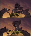 The Three Hungry Hyenas - the-lion-king photo