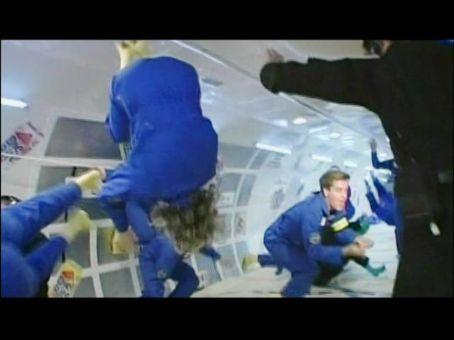 Vanna Bonta in zero gravity