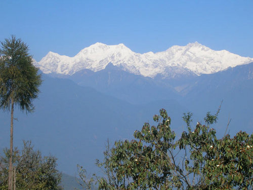 View from pelling