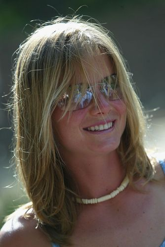 Daniela Hantuchova is all Smiles in her Shades