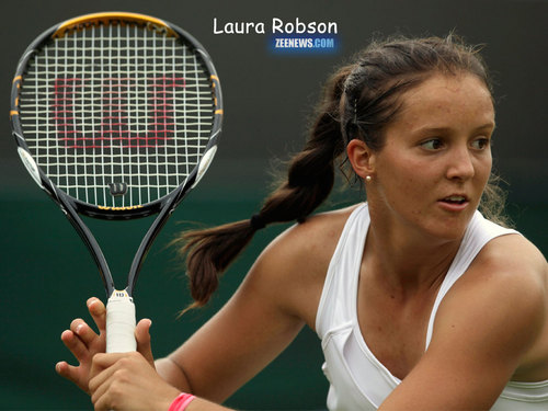 Laura Robson in Britain's OTHER Great Hope