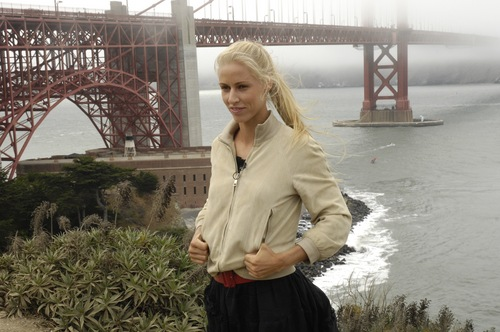 Elena Dementieva is San Francisco's Treat