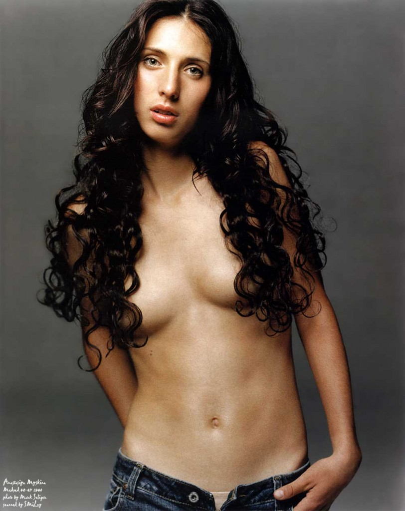 Anastasia Myskina Appreciates Long Hair