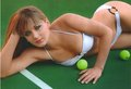 Anna Chakvetadze is Comfortable with Balls - wta photo
