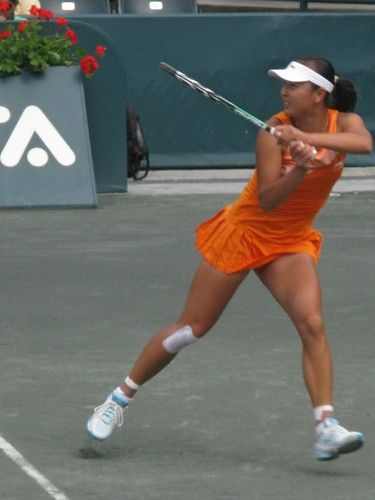 Peng Shuai displays Remarkable Touch