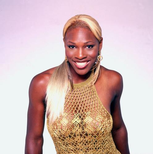 Serena Williams is Blonde & Risqué