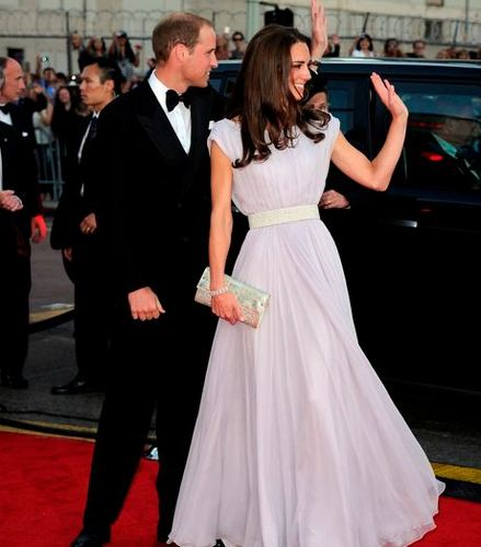 William&Catherine at BAFTA awards