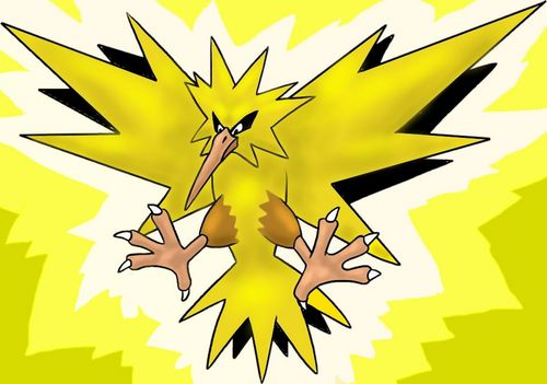 maalamat pokemon wolpeyper called Zapdos