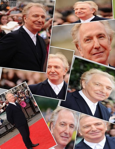 alan rickman collage