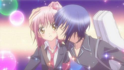 amu and ikuto kiss
