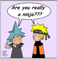 blackstar and naruto meeeet