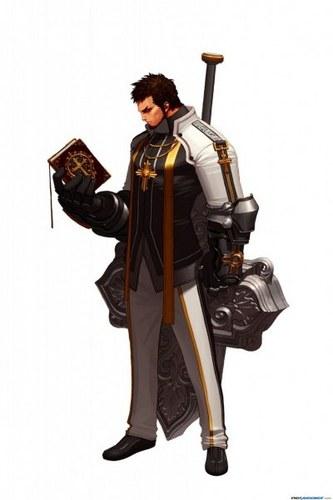 dungeon fighter(priest)
