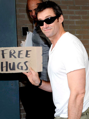 hugh jackman - stay-cation Photo