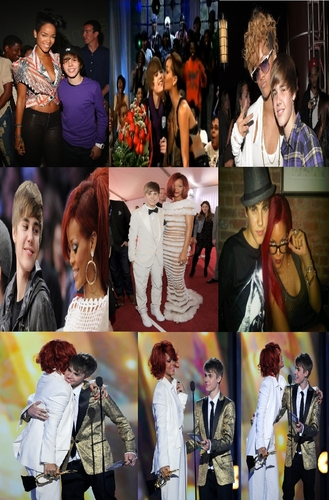justin & Rihanna - Then & Now...