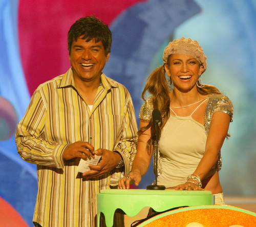 kids choice awards 2004 jennifer & george lopez