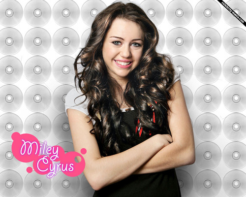 Miley Cyrus wallpaper probably containing a portrait called miley's