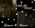 my new bamon wallpaper set: 8 thank you - damon-and-bonnie wallpaper