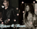 my new bamon wallpaper set: 9 db db db db db - damon-and-bonnie wallpaper