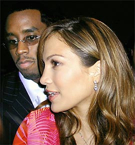 puff daddy and jennifer lopez 2000