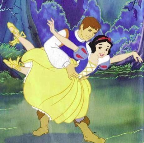 Snow White kertas dinding containing Anime called snow white ballet