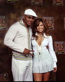 soul train awards 2003 LL Cool J & JLo