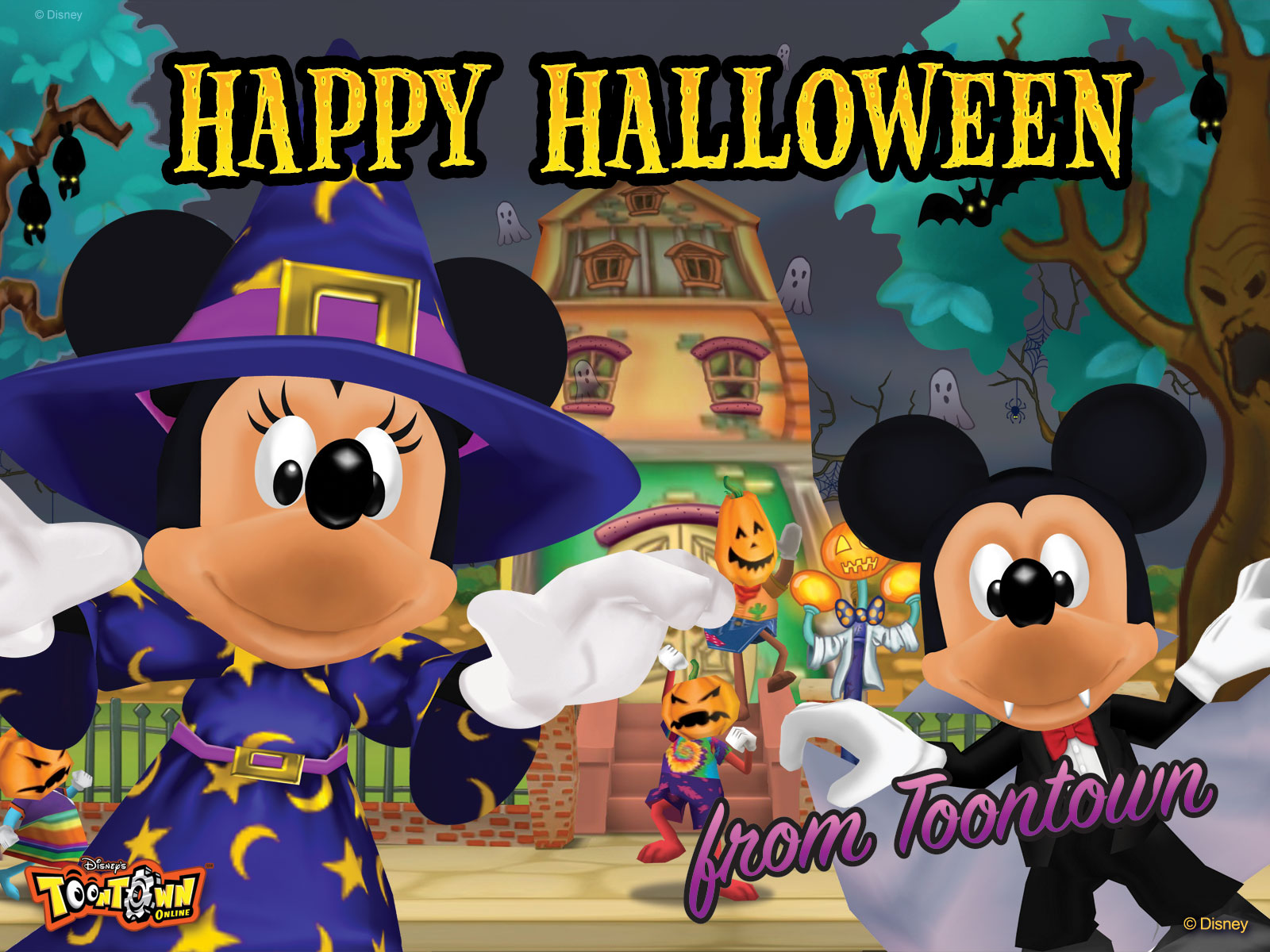 Wonderful Wallpaper Halloween Mickey Mouse - toontown-wallpaper-toontown-23526056-1600-1200  Photograph_27893.jpg