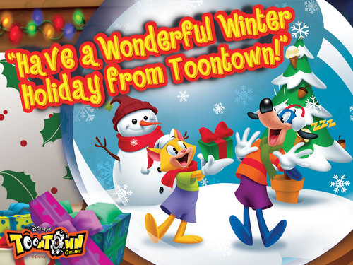 toontown winter fondo de pantalla