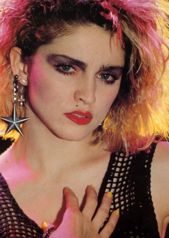 young Madonna  Madonna Photo (23554496)  Fanpop - Grey Hairstyles
