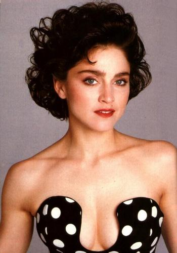 Madonna wallpaper probably containing attractiveness, a portrait, and skin called young Madonna