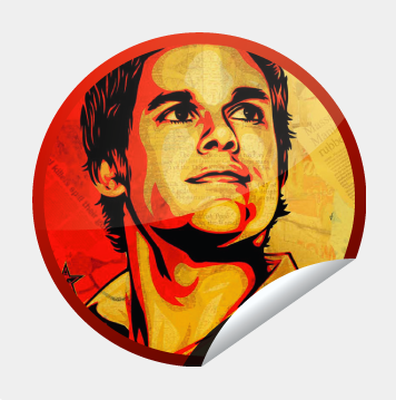 -Dexter Sticker-