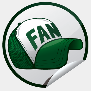 -Fan Sticker-