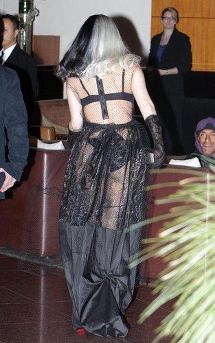 Lady gaga out in Sydney (July 10).