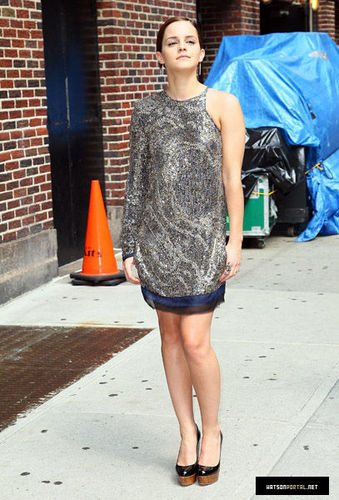 """""""The Late Show with David Letterman"""" earlier today (July 11)"""