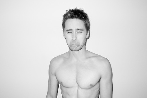 Jared Leto wallpaper with a hunk, a six pack, and skin entitled 30s