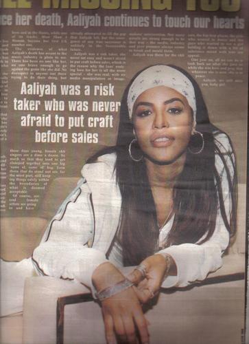 Aaliyah Salifu Idriss Photoshoot