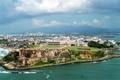 Aerial view of San Juan